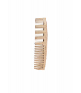 Handmade wooden comb for thick or tiny hair