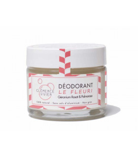 Vegan deodorant balm Le Fleuri by Clémence and Vivien