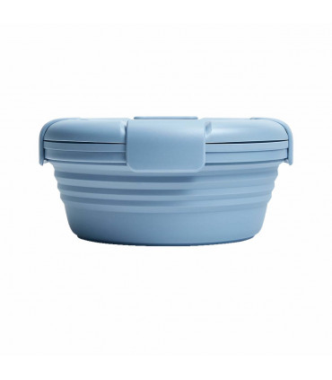 Stojo silicone collapsible bowl with lid