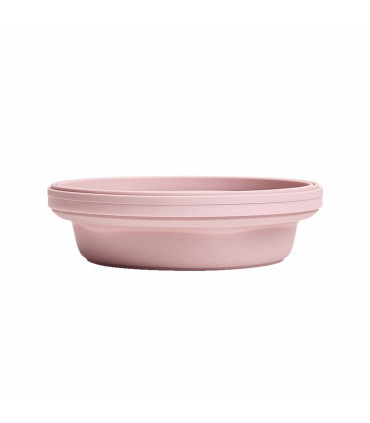 Collapsible, silicone bowl, Carnation Stojo