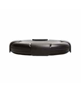 Collapsible Stojo bowl in silicone, black