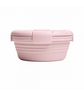 Stojo rose lunch box in silicone