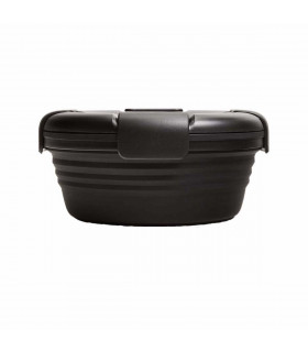 Collapsible Stojo lunch box, black