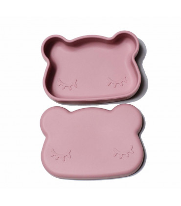 Snackie box for kids, dusty rose, We migh be tiny