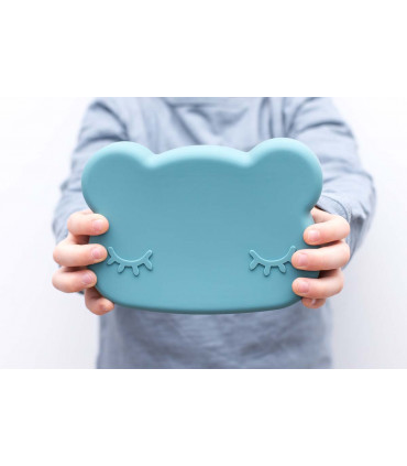 BPA-free, made of silicone lunch box for kids, We might be tiny