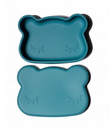 Silicone lunch box for kids, We might be tiny, Blue DUsk