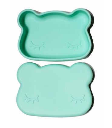 We might be tiny lunch and snackie, minty green box for children