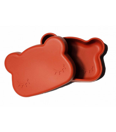 Boîte à déjeuner rust en silicone pour enfant et bébé de We might be tiny