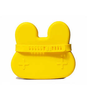 We might be tiny silicone snackie box for kids, yellow