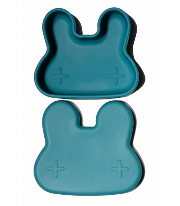 Beautiful snackie and lunch blue box for boys and girls of We might be tiny