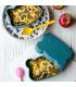 We might be tiny lunch box faite de silicone alimentaire, pour enfants, ours bleu