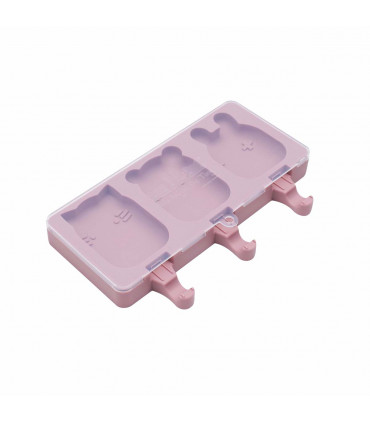 Individual ice-creams mould made of dusty rose silicone, We might be tiny