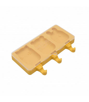 We might be tiny, individual ice-creams mold from yellow silicone
