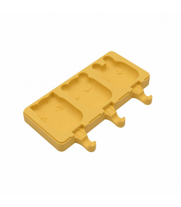 We might be tiny, ice-creams mold from yellow silicone