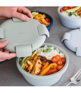 Lunch Box Pliable - Sage