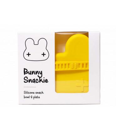 Jolie boîte à déjeuner pour enfants, lapin jaune, We might be tiny