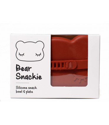 Snackie bear box made of silicone, We might be tiny