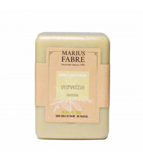 Savonnette Marius Fabre, à l'huile d'olive, parfumée Vervaine