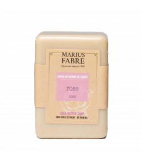 Savon solide beurre de karité et rose Marius Fabre