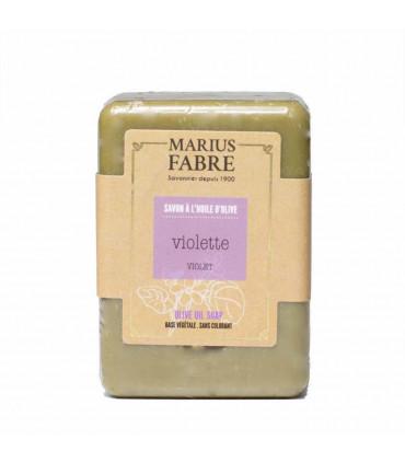 Savon solide à l'huile d'olive et violette Marius Fabre