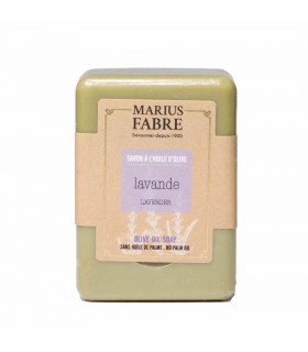 Savonnette Marius Fabre, à l'huile d'olive, parfumée à lavande