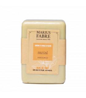 Savonnette Beurre de Karité, Parfumée au Santal, Marius Fabre