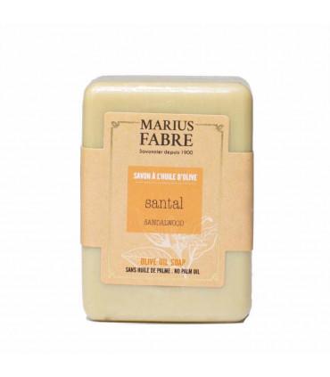 Shea butter soap bar - Sandalwood fregrance, Marius Fabre