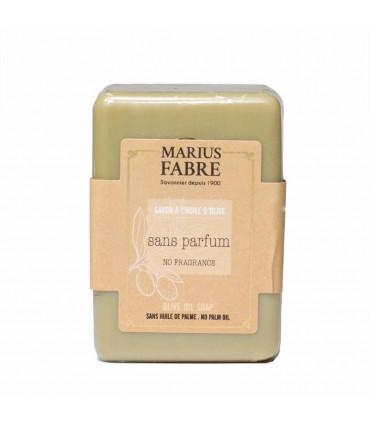 Olive Oil Soap Bar - Fregrance Free, Marius Fabre