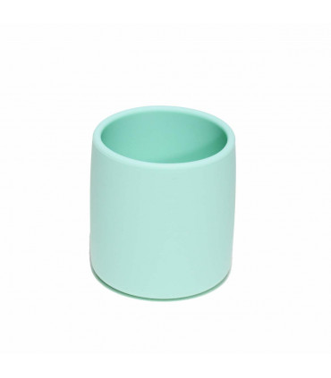 Gobelet en silicone pour bébé, sans plastique, vert, We might be tiny