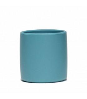 Gobelet en silicone pour bébé et enfant de We might be tiny, bleu