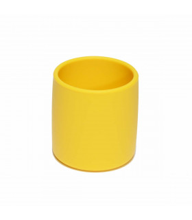 We might be tiny Yellow silicone grip cup for kids