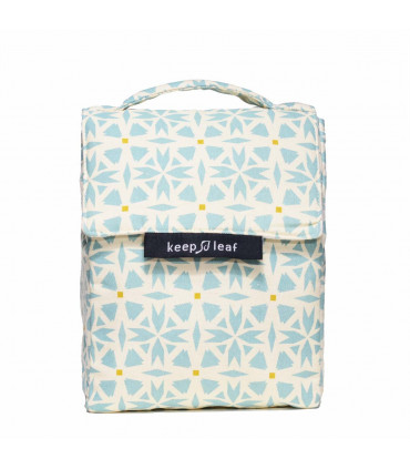 Insulated Lunch Bag, geo, Keep Leaf