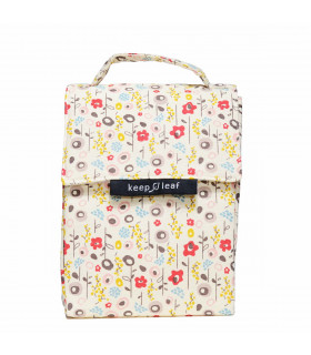 Insulated Lunch Bag, blossom, Keep Leaf