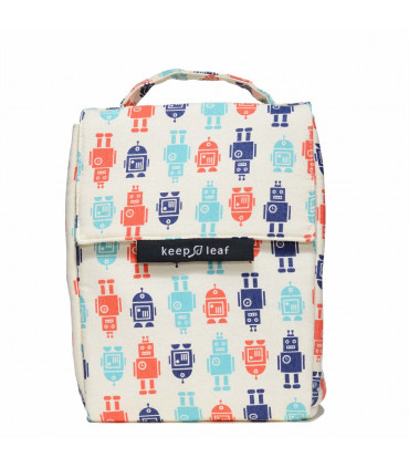 Insulated Lunch Bag, robots, Keep Leaf