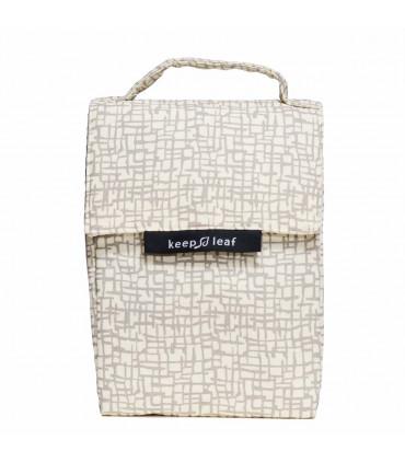 Insulated Lunch Bag, mesh, Keep Leaf