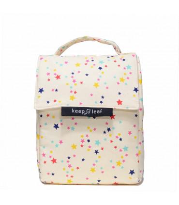 Lunch Bag - Sac Isotherme Stars, Keep Leaf