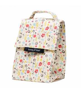 Lunch Bag - Sac Isotherme Fleurs, Keep Leaf