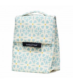 Insulated Lunch Bag for kids and adults, geo, Keep Leaf