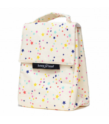Insulated Lunch Bag for women étoiles, Keep Leaf
