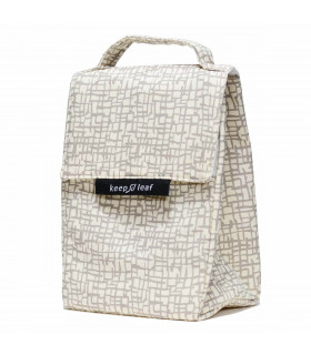 Insulated Lunch Bag for women, mesh, Keep Leaf