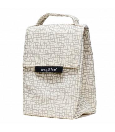 Lunch Bag - Sac Isotherme pour femme Mesh, Keep Leaf