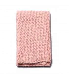 Chiffon naturel en lin et coton rose poudré pour nettoyer la cuisine Iris Hantverk