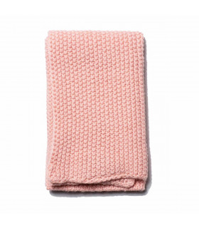 Dusty pink household organic cotton cloth, Iris Hantverk