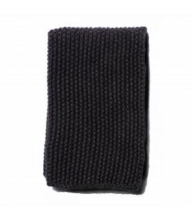 Chiffon naturel en lin et coton  noir pour la cuisine, Iris Hantverk