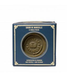 Savon de Marseille brut, vert, Marius Fabre