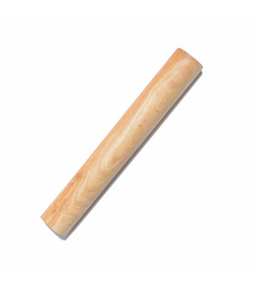 Olivenholz ErlebenOlive Wood Dough Roller (Rolling Pin) - 25 cm