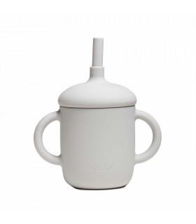 Tasse d'apprentissage pour bébé, conçue en silicone, Pearl, My Chupi