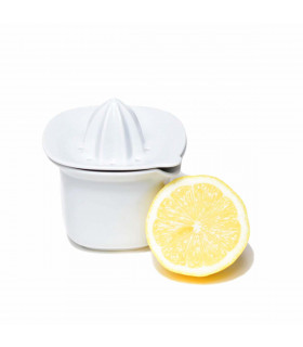 Presse Citron avec Réservoir en Porcelaine