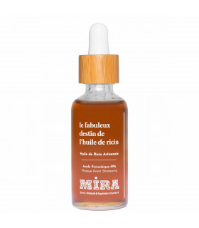 Pure  and Virgin  Natural Castor Oil, Mira