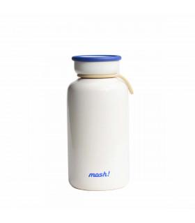 Gourde en Acier Inoxydable 330 ml - Blanc, Mosh!